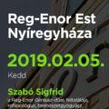 Reg-Enor Est Szabó Sigfriddel Nyíregyházán