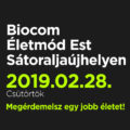 Biocom Életmód Est Sátoraljaújhelyen