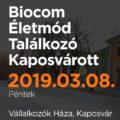 Biocom Életmód Találkozó Kaposvárott