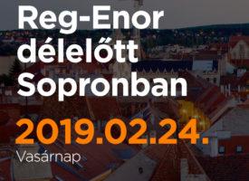 Reg-Enor délelőtt Sopronban