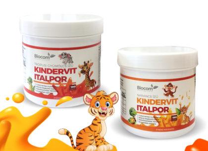 Megjött a Kindervit, a gyermekek és felnőttek kedvenc vitaminos italpora!