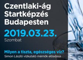 Czentlaki-ág Startképzés Budapesten, szombaton