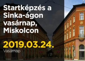 Startképzés a Sinka-ágon vasárnap, Miskolcon