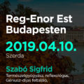 Reg-Enor Est Budapesten Szabó Sigfriddel a Hotel Platanusban
