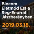 Biocom Életmód Est a Reg-Enorral Jászberényben