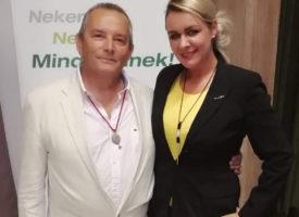 Jakab István volt a győri Egészség Est előadója a Csordás csapat szervezésében