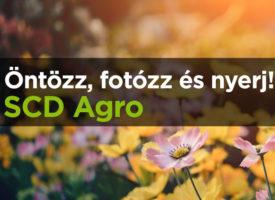 Öntözz, fotózz és nyerj! SCD Agro tapasztalatok versenye értékes nyereményekért