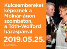 Kulcsembereket képeznek a Molnár-ágon szombaton, Szegeden a Tóth-Wolford házaspárral