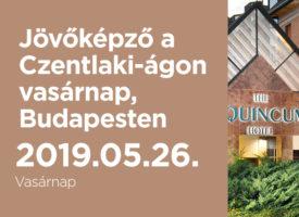 Jövőképző a Czentlaki-ágon vasárnap, Budapesten