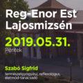 Reg-Enor Est Lajosmizsén Szabó Sigfriddel