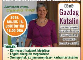 Egészség Est Hajdúszoboszlón Gazdag Katival