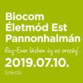 Biocom Életmód Est Pannonhalmán