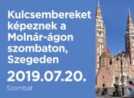 Kulcsembereket képeznek a Molnár-ágon szombaton, Szegeden