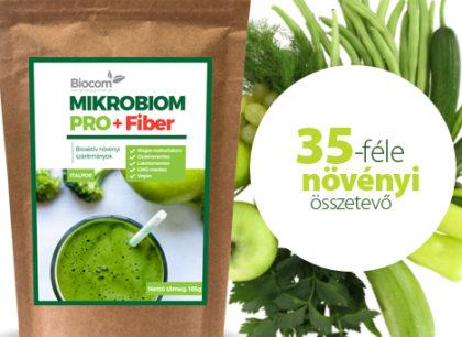 Még erősebb lett a népszerű Mikrobiom Pro! – Rostokkal dúsabb, Fibernek nevezzük, ugyanannyiért kapjuk