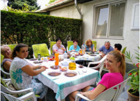 A Budaörsi Biocom Műhely a kertbe költözött, avagy csapatépítő élménynapot tartottak a Kosiba-Vas csoportban