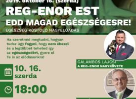 Reg-Enor Est Szigetszentmiklóson Szabó Sigfriddel és Galambos Lajcsival