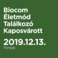 Biocom Életmód TalálkozóKaposvár