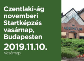 Czentlaki-ág novemberi Startképzés vasárnap, Budapesten
