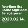 Reg-Enor Est Szabó Sigfriddel Seregélyesen