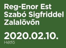 Reg-Enor Est Szabó Sigfriddel Zalalövőn
