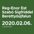 Reg-Enor Est Szabó Sigfriddel Berettyóújfalun