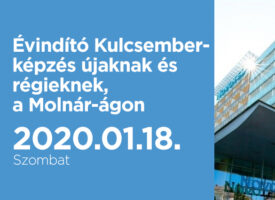 Évindító Kulcsember-képzés újaknak és régieknek szombaton, Szegeden, a Molnár-ágon