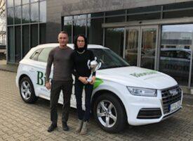 A céges Audi autócserét is vonzott Imre Réka életébe – A Janák-Veres-ág nógrádi Arany Hálózatvezetőjének a pozitív változások éve volt 2019