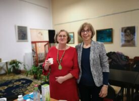 Szélviharos Egészségmegőrző Klub Zircen – Az időjárás sem lehet akadály Bencsik Évának a Beta-ágon