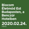 Biocom Életmód Est Budapesten, a Benczúr Hotelben