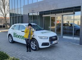 Életjobbító üzlet a Biocom – ezt az érzést adja át Oravecz Ibolya, a Kosiba-ág HV-ja, amely elvezette a céges Audihoz is