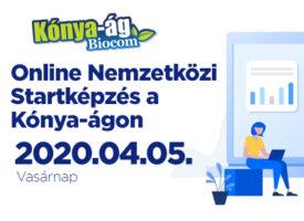 Online Nemzetközi Startképzés a Kónya-ágon, április 5-én
