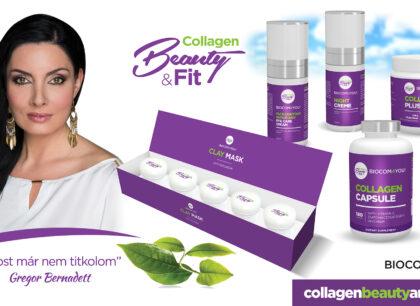 Agyagmaszk a Biocomtól: teljes lett az exkluzív, Collagen Beauty & Fit kozmetikai termékcsalád!