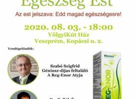Egészség Est Veszprémben Szabó Sigfriddel