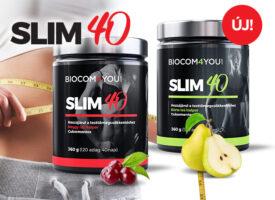 Slim40: az Ön karcsúságáért! – A Biocom vadonatúj terméke a fogyni vágyóknak segíthet