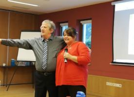 Csapatépítés, tanulás, közös fejlődés: a Kosiba-ág vezetői Visegrádon tréningeztek