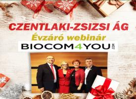 A Czentlaki-Zsizsi-ág ünnepélyes, online évzáróján virtuálisan ünnepelték 2020 sikereit, mégis együtt