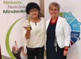 Az ország legkisebb városában lett HV Tóthné Bodnár Erika a Tasnádi-ágon, akinek a terméktapasztalatok még nagyobb lendületet adnak