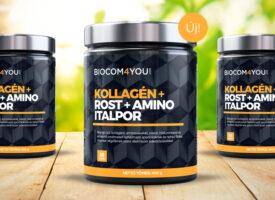 Újabb lehetőség az egészséges szépséghez: a vadonatúj kollagén italpor rostokkal, aminosavakkal dúsítva érkezik a Biocomba!