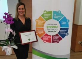 A Biocom Életkerekét éli Vörös Anita, aki fontos döntések mentén lett kitűzős HV a Csordás-ágon