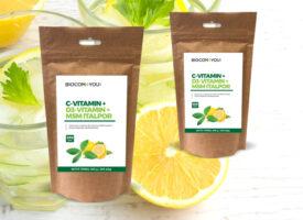 Rendkívül kedvező ajánlat: MSM C-vitamin italpor, utántöltővel!