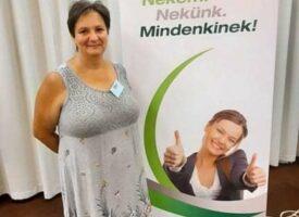 Reményekkel teli, boldogabb élete kezdődött el a Biocommal Csizmadia Józsefné Anikónak, a Bőke-ág új hálózatvezetőjének