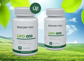 Újdonság a régi ismerős: liposzómás Q10 koenzim D3-vitaminnal