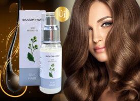 Visszaállítja a haj egészséges szerkezetét az új Silk Hair hajápoló olaj